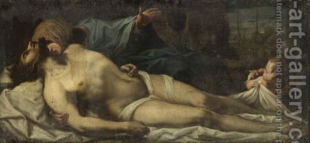 The Pieta by (after) Francesco Trevisani - Reproduction Oil Painting