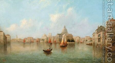 Venetian View by James Salt - Reproduction Oil Painting