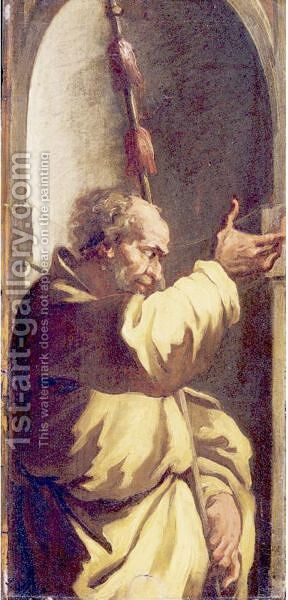 Saint James The Lesser by (after) Ubaldo Gandolfi - Reproduction Oil Painting
