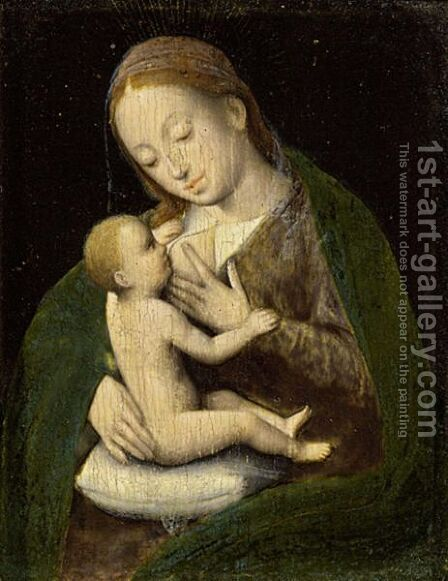 Madonna And Child by (after) Cleve, Joos van - Reproduction Oil Painting
