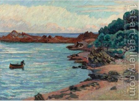 Agay by Armand Guillaumin - Reproduction Oil Painting