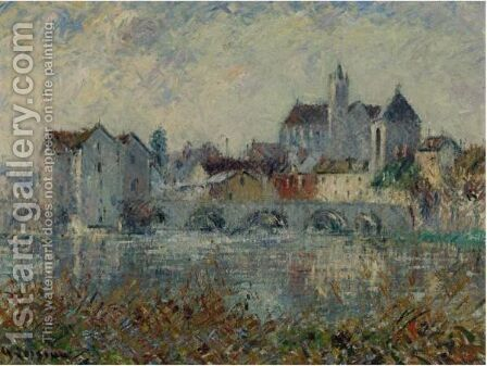 Moret Sur Loing 2 by Gustave Loiseau - Reproduction Oil Painting