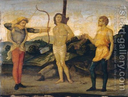 The Martyrdom Of Saint Sebastian by Italian Unknown Master - Reproduction Oil Painting