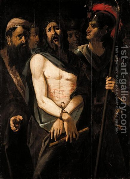 Ecce Homo by Dutch School - Reproduction Oil Painting