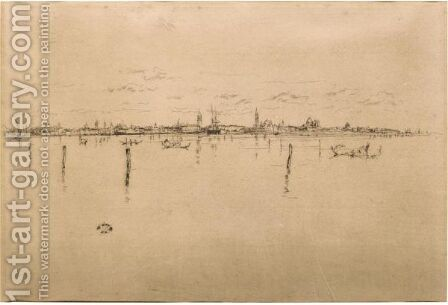 Little Venice by James Abbott McNeill Whistler - Reproduction Oil Painting