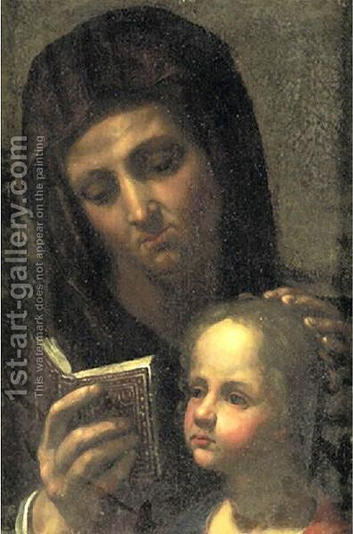 Madonna And Child by (after) Leonardo Da Vinci - Reproduction Oil Painting
