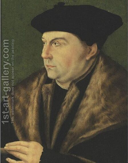 Portrait Of Thomas Cromwell by (after) Holbein the Younger, Hans - Reproduction Oil Painting