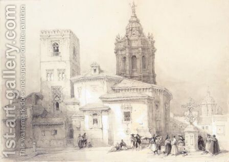 Santa Catalina, Seville by David Roberts - Reproduction Oil Painting