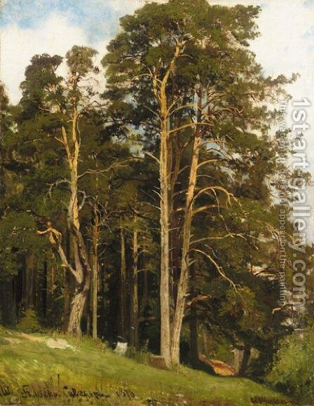 The Edge Of The Wood by Ivan Shishkin - Reproduction Oil Painting