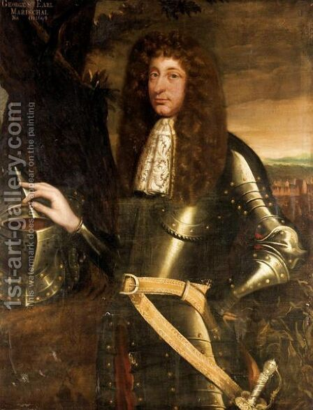 Portrait Of George Keith, 8th Earl Of Marischal (Died 1694) by (after) Sir John Baptist De Medina - Reproduction Oil Painting
