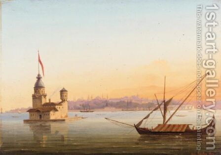 Constantinople by Alexandre Raulin - Reproduction Oil Painting