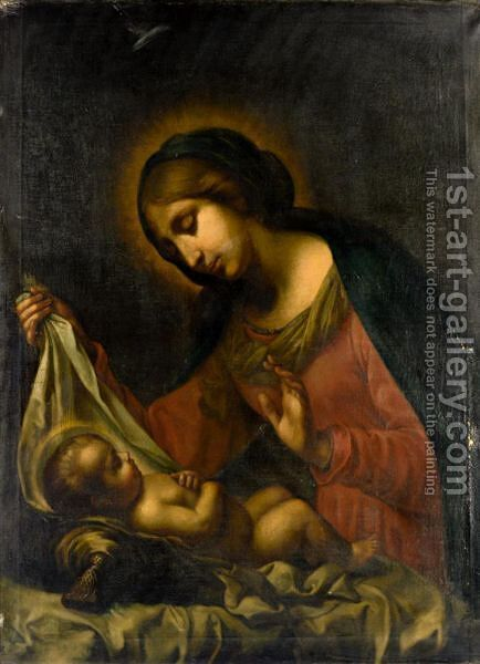 Madonna And Child by (after) Carlo Dolci - Reproduction Oil Painting