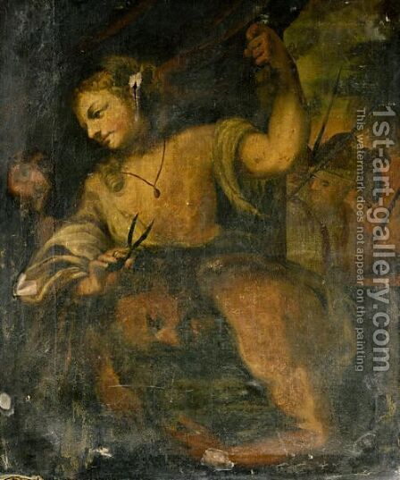 Samson And Delilah by (after) Antonio Bellucci - Reproduction Oil Painting