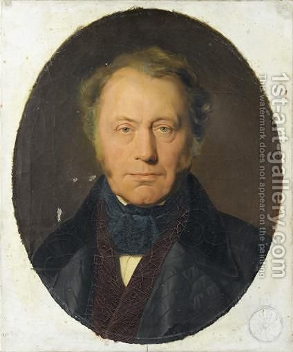 Portrait Du Comte James-Alexandre De Pourtales-Gorgier by (after) Delaroche, Hippolyte (Paul) - Reproduction Oil Painting