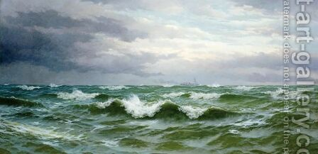 The Morning Tide by David James - Reproduction Oil Painting