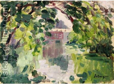 Bord De Marne by Henri Lebasque - Reproduction Oil Painting