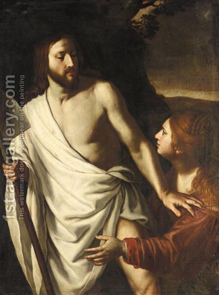 Noli Me Tangere by (after) Alessandro Turchi (Orbetto - Reproduction Oil Painting