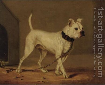 Boxer by Henry Calvert - Reproduction Oil Painting