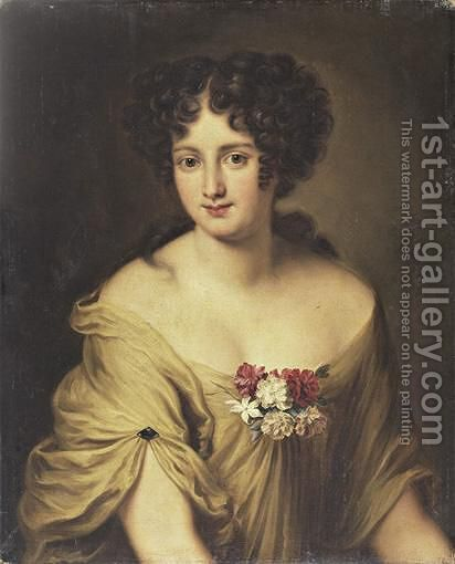 Portrait Of The Countess Ortensia Ianni Stella by Jacob Ferdinand Voet - Reproduction Oil Painting