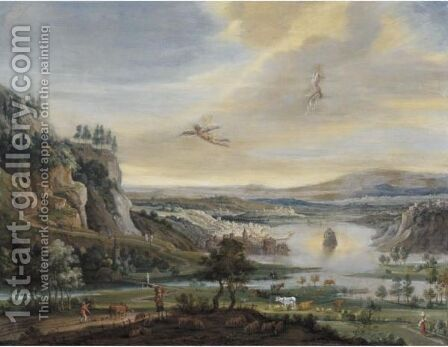 The Fall Of Icarus by (after) Jan The Elder Brueghel - Reproduction Oil Painting
