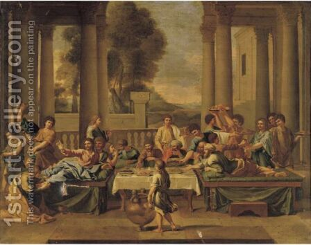 Penance, One Of The Seven Sacraments by (after) Nicolas Poussin - Reproduction Oil Painting