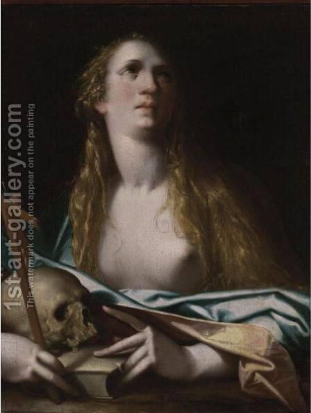 Mary Magdalene by (after) Bartholomaeus Spranger - Reproduction Oil Painting