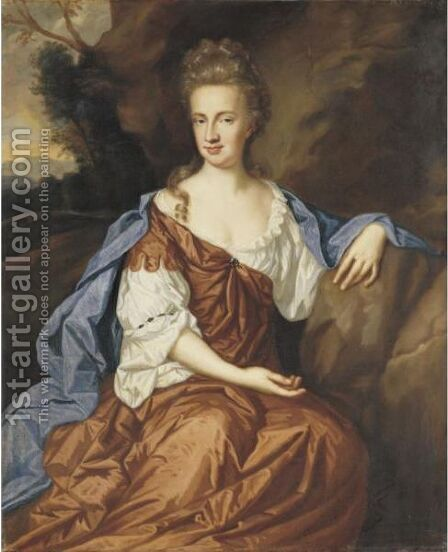 Portrait Of A Lady by (after) Kerseboom, Johannes - Reproduction Oil Painting