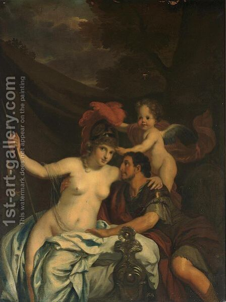 Ulysses And Calypso by (after) Gerard De Lairesse - Reproduction Oil Painting