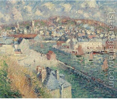 Le Port De Fecamp by Gustave Loiseau - Reproduction Oil Painting