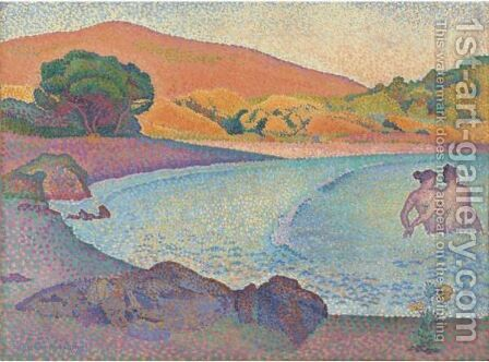 Baigneuses by Henri Edmond Cross - Reproduction Oil Painting