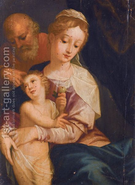 The Holy Family by (after) Friedrich Sustris - Reproduction Oil Painting