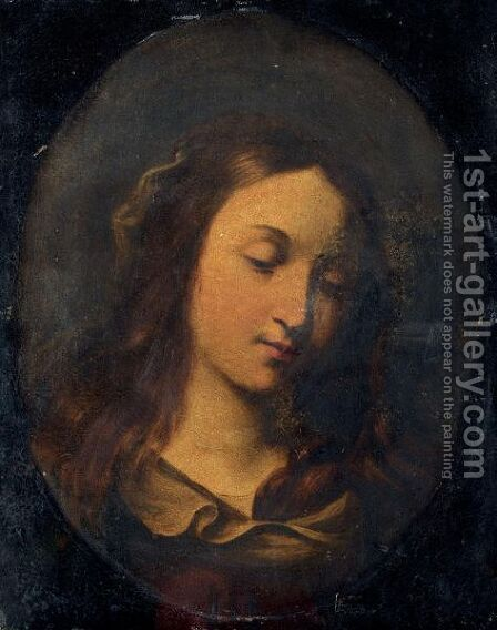 The Madonna by (after) Giovanni Francesco Guercino (BARBIERI) - Reproduction Oil Painting