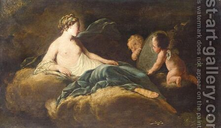 The Toilet Of Venus 2 by (after) Francois Boucher - Reproduction Oil Painting