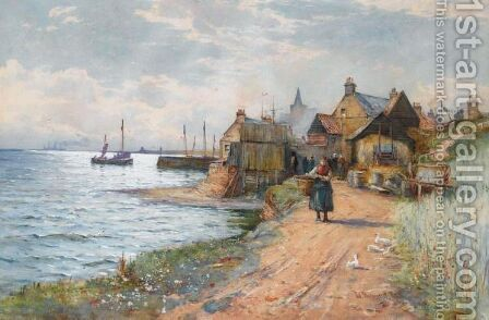 St Monans by James MacMaster - Reproduction Oil Painting