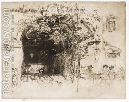 The Traghetto by James Abbott McNeill Whistler - Reproduction Oil Painting