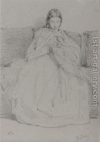 Nelly by James Abbott McNeill Whistler - Reproduction Oil Painting