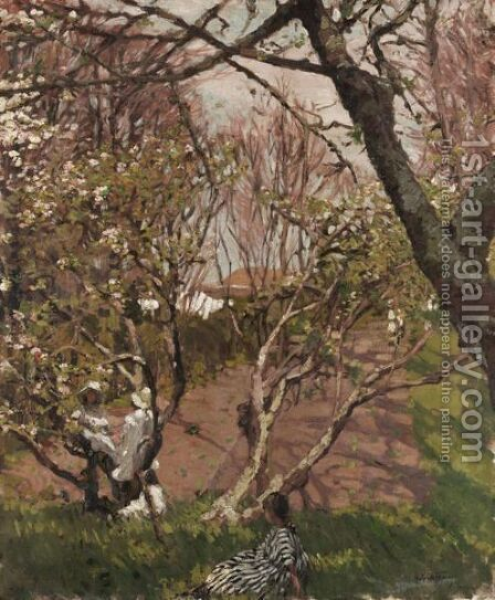 Springtime by Hilda Fearon - Reproduction Oil Painting