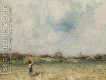 The Kite by James Paterson - Reproduction Oil Painting