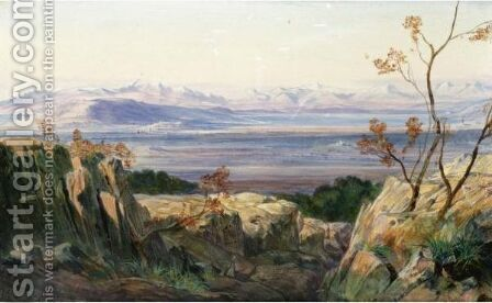 Albania by Edward Lear - Reproduction Oil Painting