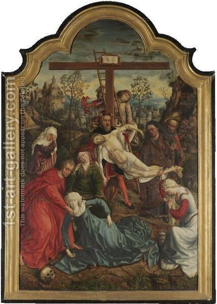 The Descent From The Cross by (after) Rogier Van Der Weyden - Reproduction Oil Painting