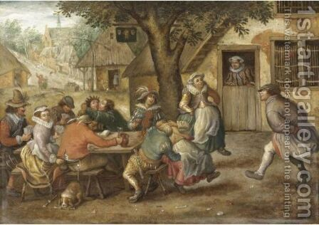 Festa Paesana by (after) Pieter The Elder Brueghel - Reproduction Oil Painting
