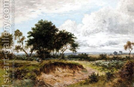 A Summer's Day by Daniel Sherrin - Reproduction Oil Painting