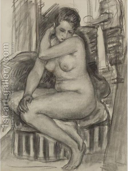 Nu by Henri Lebasque - Reproduction Oil Painting