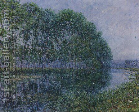 Les Bords De L'Eure by Gustave Loiseau - Reproduction Oil Painting