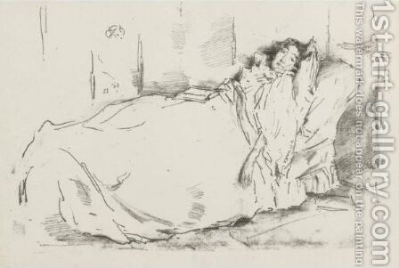 The Siesta by James Abbott McNeill Whistler - Reproduction Oil Painting