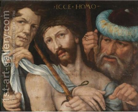 Ecce Homo by (after) Jan Sanders Van Hemessen - Reproduction Oil Painting