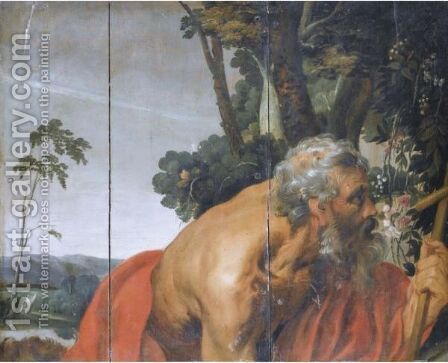 Saint Jerome by (after) Sir Peter Paul Rubens - Reproduction Oil Painting