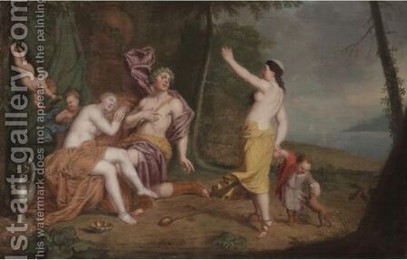 Bacchus And Ariadne by (after) Louis Alexandre Dubourg - Reproduction Oil Painting