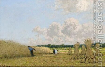 Harvest Time by Cornelis Kuypers - Reproduction Oil Painting