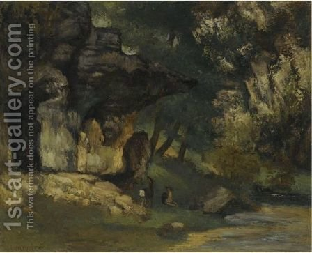 Remise De Chevreuils by Gustave Courbet - Reproduction Oil Painting